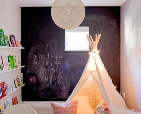 חדר ילדים מעוצב על ידי סטודיו INDESIGNS