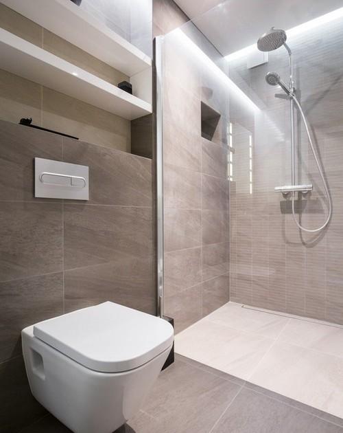 חדר אמבטיה בדירת פנטהאוז