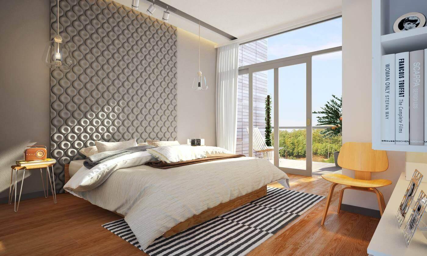 עיצוב חדרי שינה על ידי מעצבת פנים