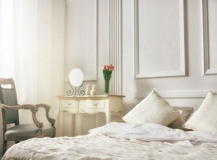 חדרי שינה מעוצב בדירת יוקרה